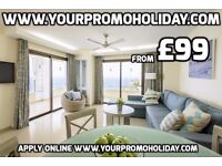 Cheap from £99 promotional holidays in Tenerife. Los Cristianos, Las Americas, Costa Adeje 7 nights