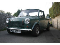 Classic Austin Morris Model 95 very rare Mini Pickup 1980