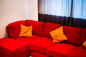Hey guys! We are selling our lovely sofa-double bed!