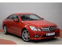 MERCEDES-BENZ E CLASS 3.0 E350 CDI BLUEEFFICIENCY SPORT 2d AUTO 231 BHP (red) 2010