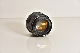 50mm f1.4 Super Takumar M42 Lens - Mint