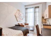AMAZING SELECTION OF STUDIO FLATS IN SOUTH KENSINGTON AND NOTTING HILL! BILLS INC!