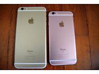 NEW SALE APPLE IPHONE 6S PLUS 128GB ROSE GOLD PRISTINE CONDITION UNLOCKED