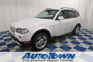 2008 BMW X3 2.8i PANOROOF/NAV/LEATHER INTERIOR