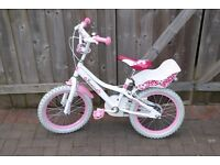 "16"" girls bike (bicycle)"