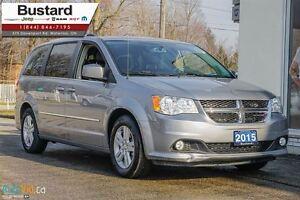 2015 Dodge Grand Caravan CREW PLUS   LEATHER   NAVI   POWER DOOR