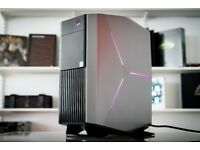 Dell Alienware Aurora R6 Gaming PC i7-7700k GTX 1050Ti Warranty