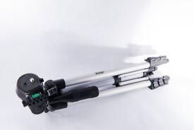 "Vivitar Photo Video Tripod, 50"" Extension, 16.8mm Leg, Carry Case for DSLR Nikon Canon Fuji Pentax"