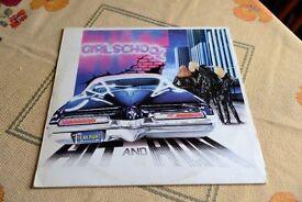 Girlschool - Hit & Run (Red Vinyl) LP