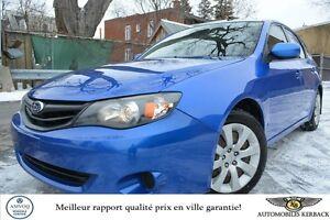 2011 Subaru Impreza 2,5i HATCHBACK/AWD/AC $196/MOIS GARANTIE 6 M