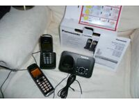 PANASONIC TWIN Digital cordless phones, VGC