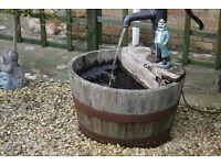half barrel water feacher