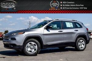 2017 Jeep Cherokee New Car Sport|4x4|Bluetooth|Trailer Tow Group