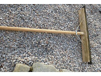 """Squeegee with 24"""" blade and long handle"""