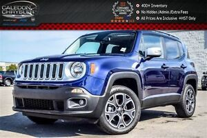 2016 Jeep Renegade Limited|4x4|Sunroof|Backup CAm|Bluetooth|R-St
