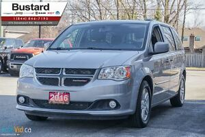 2016 Dodge Grand Caravan CREW | LEATHER | POWER DOORS | NAVI | D