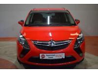 VAUXHALL ZAFIRA TOURER 2.0 CDTI SRi 5 Door MPV 128 BHP (red) 2014