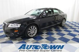 2010 Audi A6 3.0T S LINE/HEATED SEATS/PUSH STAR