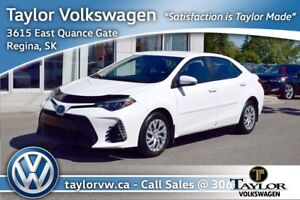 2017 Toyota Corolla 4-door Sedan SE CVTi-S Nice Extras Including