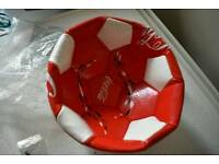 Coca cola football ball, brand new