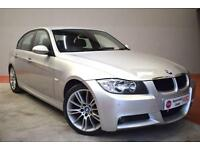 BMW 3 SERIES 318I M SPORT 4 Door Saloon 128 BHP (silver) 2006