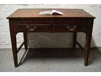 Victorian pine estate desk (DELIVERY AVAILABLE)