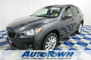 2014 Mazda CX-5 GT AWD/BACKUP CAM/SUNROOF/NAV/LEATHER