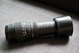 Sigma AF 70-300mm f4-5.6 DG APO Macro Canon Fit Lens-Black
