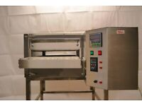 ROROQUIP Commercial/Catering Kitchen Pizza Oven Natural Gas Rotobelt Conveyor Oven