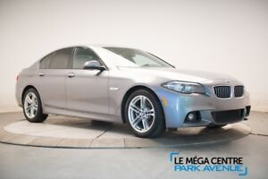 2014 BMW 5 Series 528i  xDrive MSPORT PREM, CUIR