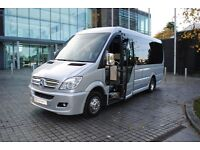 MINIBUS/TAXI HIRE WITH DRIVER FOR AIRPORT TRANSFER,WEDDING PARTY,PRIVATE HIRE,NIGHT-OUT & HOLIDAYS.