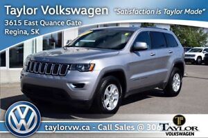 2017 Jeep Grand Cherokee 4x4 Laredo Pure Luxury with Rugged 4 Wh
