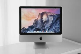 "Apple iMac 20"" Desktop FinalCutProX/LogicX/Ableton/Cubase/VirtualDJ 2.4Ghz 6GB 240GB HDD"