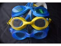Arena / Speedo Junior Swimming Goggles - Blue, Yelow