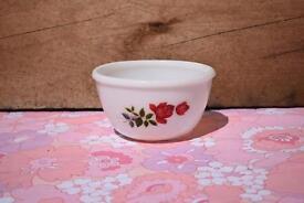 Pyrex JAJ June Rose Mini Mixing Bowl retro vintage