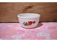 Pyrex JAJ June Rose Mini Mixing Bowl retro vintage