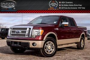 2009 Ford F-150 King Ranch|4x4|Backup Cam|Bluetooth!Leather|Cold