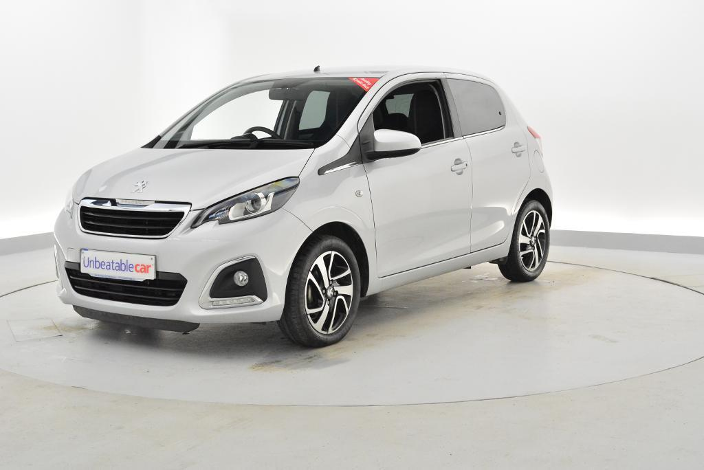 peugeot 108 1 2 vti allure 5dr silver 2015 in crawley west sussex gumtree. Black Bedroom Furniture Sets. Home Design Ideas