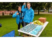 Event volunteer - charity cycling event - Stratford