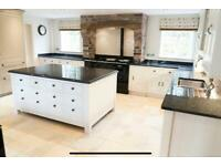 Martin Moore Fitted Kitchen with Island & AGA