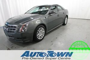 2011 Cadillac CTS 4 AWD CLEAN HISTORY / LOW KMS/ HTD MEMORY SEAT