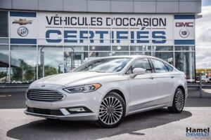 2017 Ford Fusion SE AWD 2.0L ECOBOOST/CUIR/NAVI/TOIT OUVRANT