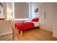 Extra-large double room available to move in January 2017.