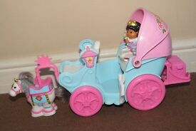 Princess with carriage
