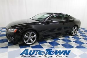 2010 Audi A5 2.0T/LOCAL/NAV SYSTEM/LEATHER INTERIOR