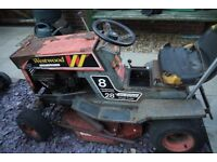 Ride on mower / tractor