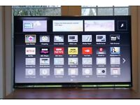 "Panasonic 55"" TX-55AS802B Smart 3D 1080p Full HD TV with Built in Wi-Fi £395"