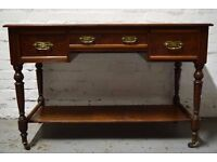 Mahogany writing desk (DELIVERY AVAILABLE)