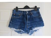 Levi Vintage Denim Shorts