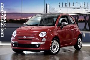 2012 Fiat 500 Lounge MAGS CUIR TOIT PANORAMIQUE
